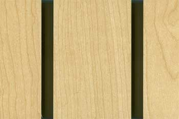Maple Slatwall Paneling